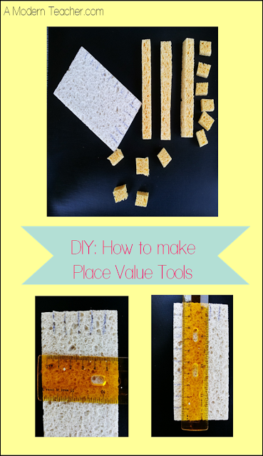 Modern Classroom Blocks : Diy how to make place value tools a modern teacher