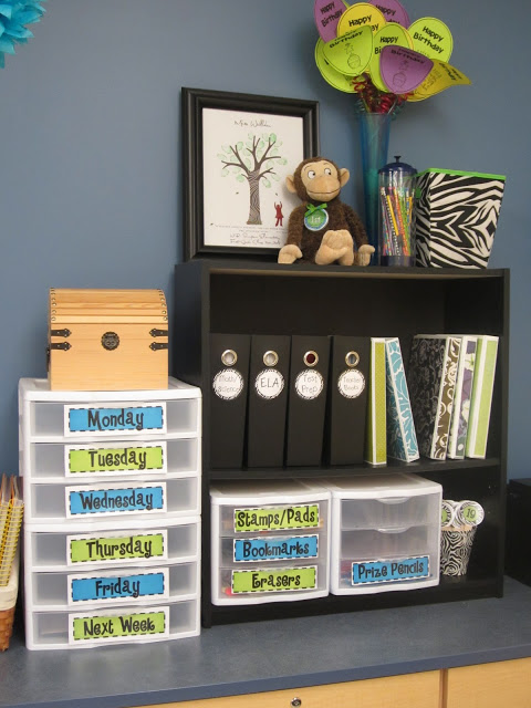 Mission Organization: 21 Ideas On Organizing Your Teacher Area   A Modern  Teacher