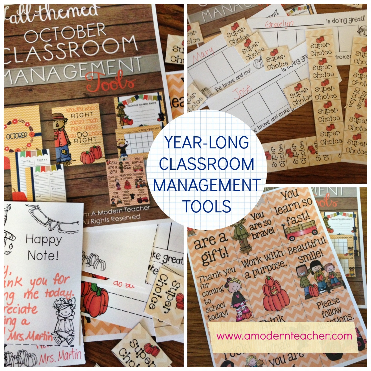 Modern Classroom Management ~ October classroom management tools a modern teacher
