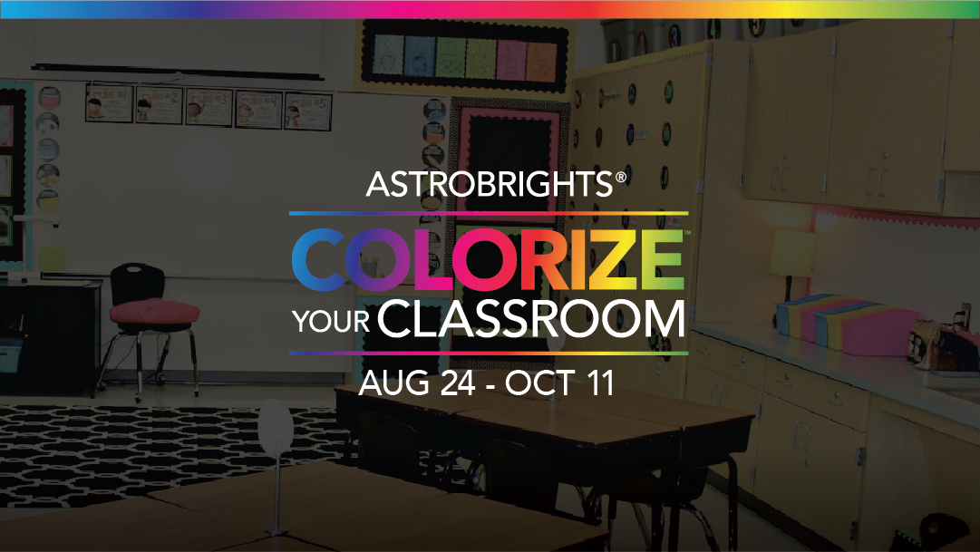Modern Classroom Essay ~ Astrobrights papers colorize your classroom challenge a