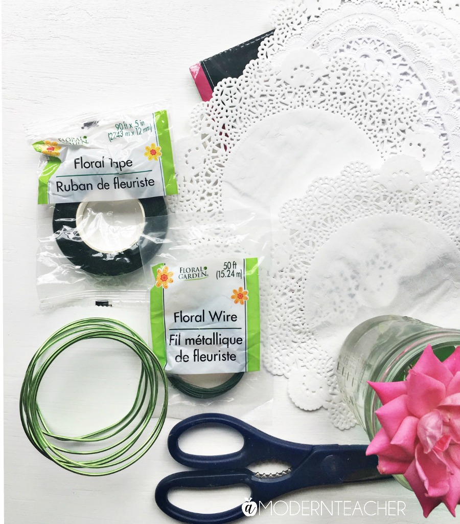 Diy Doily Flower Crown The Crafting Chicks